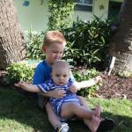 Thank God for my boys!