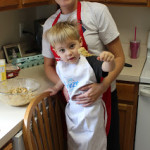 Our little bakers