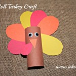 Paper Roll Turkey Craft