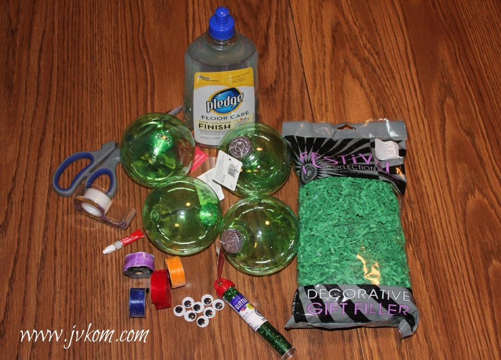 Ninja Turtle Ornament Supplies