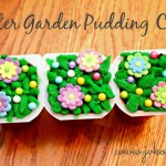 Easter Garden Pudding Cups