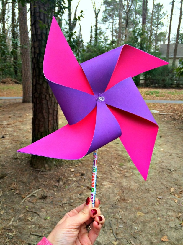 Easy DIY Pinwheel Craft