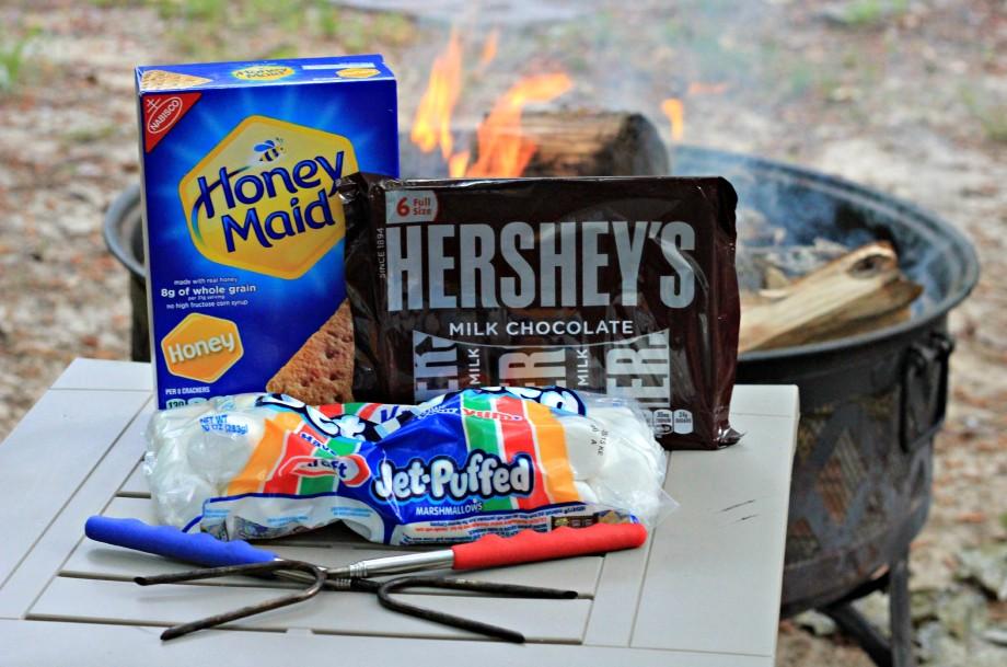 10 Minutes Campfire S'mores #LetsMakeSmores #CollectiveBias #ad