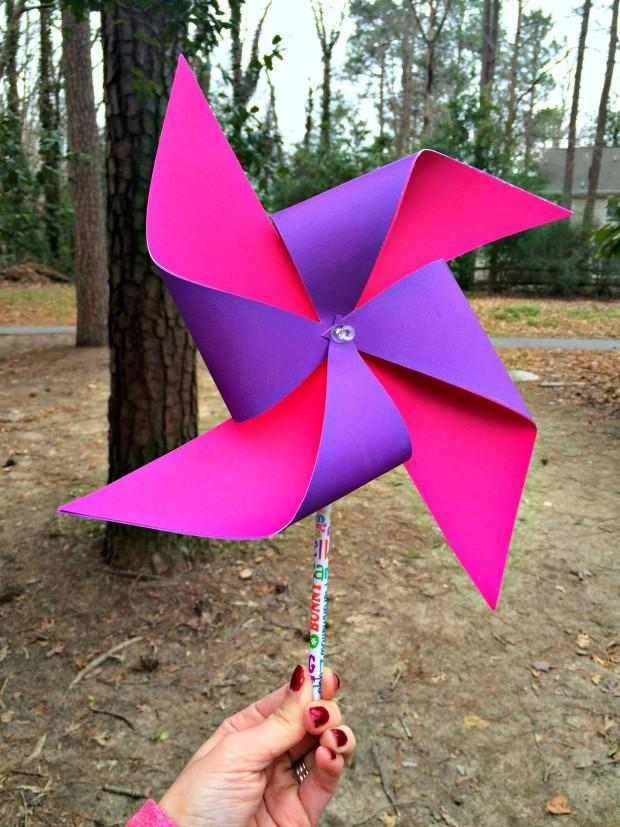 Easy DIY Pinwheel Craft