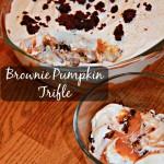 Brownie Pumpkin Trifle